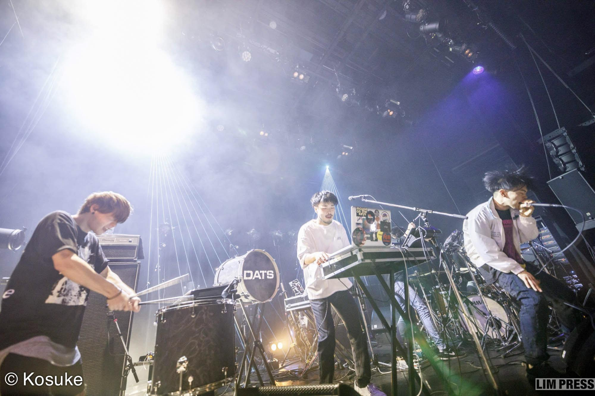 DATS | 渋谷 WWW X | 2018.02.10