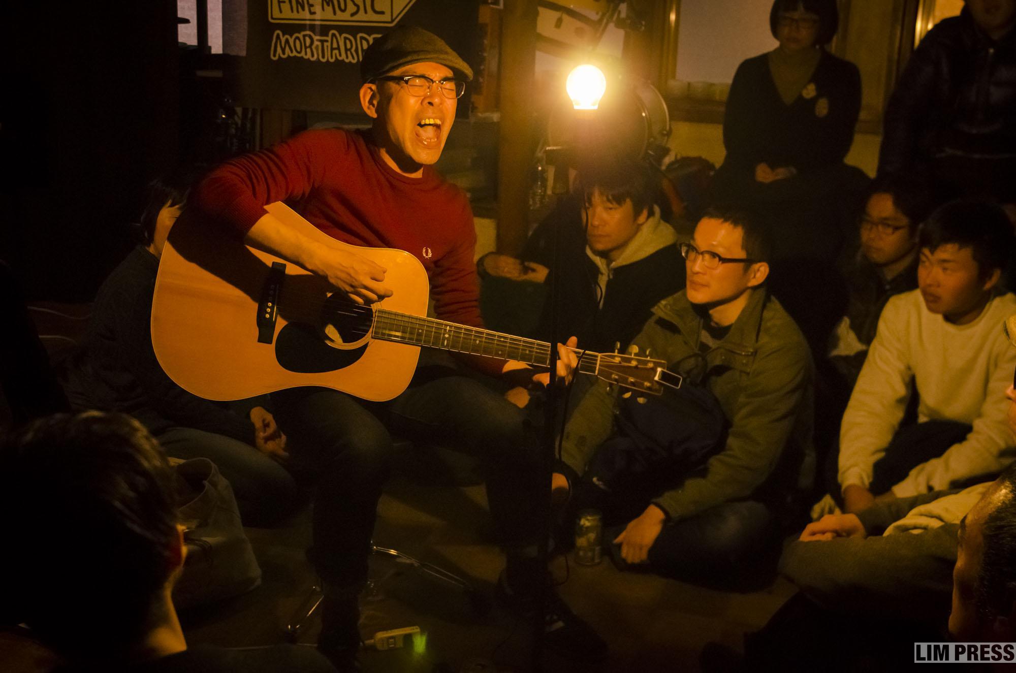 outside yoshino | 熊谷 モルタルレコード | 2018.01.14