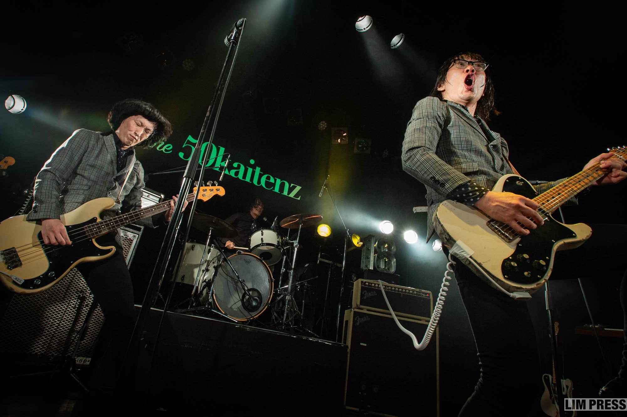 ザ50回転ズ | 東京 渋谷WWW X | 2018.7.1